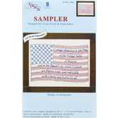 Pledge of Allegiance Sampler Needle Art Kit